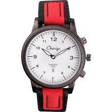 Chaxigo Casual Ontwerp mannen Horloges Horloges Mannen 2016 Nieuwe Mode Lederen Kwaliteit Mannelijke Klok Montre Reloj Relogio Masculino