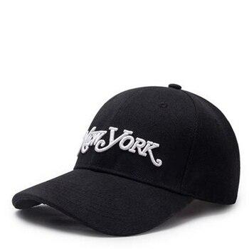 2018 nuevo de alta calidad carta NY Snapback gorra de béisbol Hip Hop  sombrero para hombres mujeres papá Gorras algodón negro equipada sombrero  gorras 86dc42ca73eb