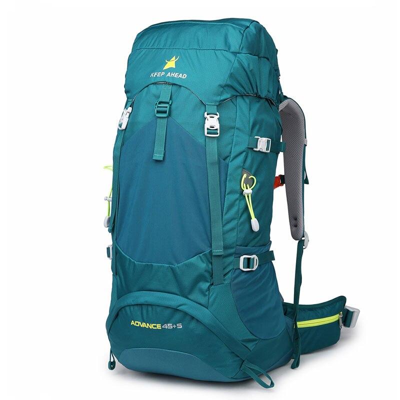 45L Rucksack Hiking Backpacks Mountain Backpack Waterproof Tear resistance Backpack Multi-function Camping Vocation Climbing