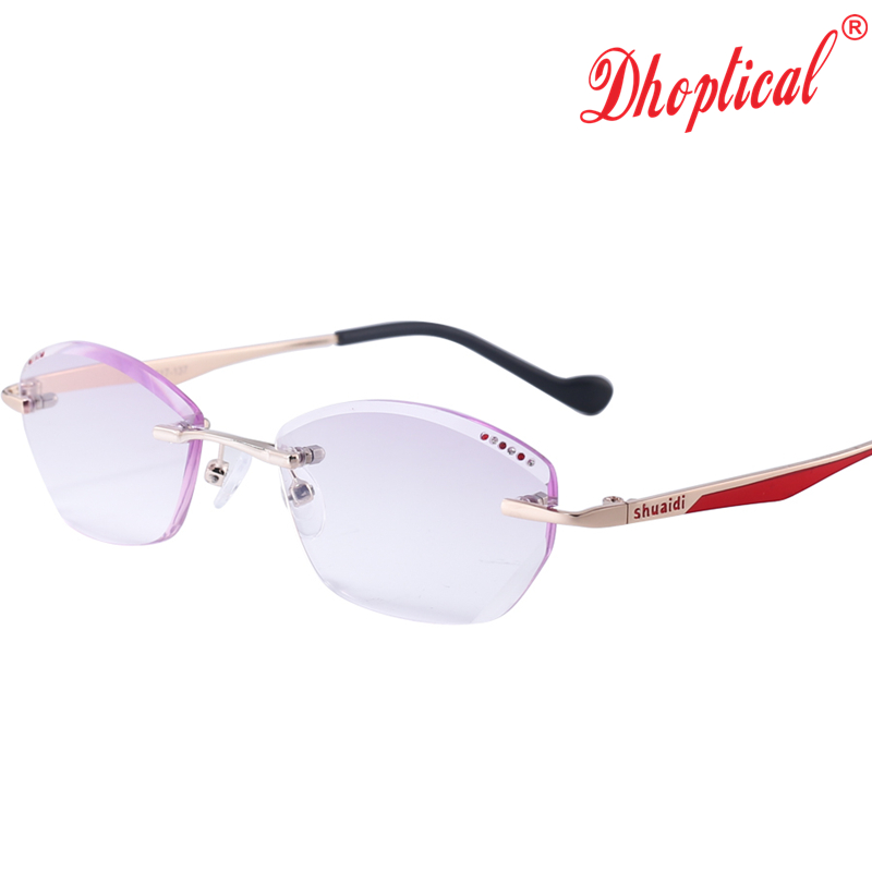 3142fb0b0494 Find everything from readers to pendant necklaces to boot socks and more on  sale. Women Rhinestone Rimless Reading Glasses High Clear Woman Purple  Readers ...