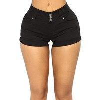 cf9914cbf Summer Sexy Ultra Short Denim Shorts For Women Elegant Ladies Hot High  Waist Jeans Mini Shorts. Verano Ultra Sexy corto Denim Pantalones cortos  para mujer ...