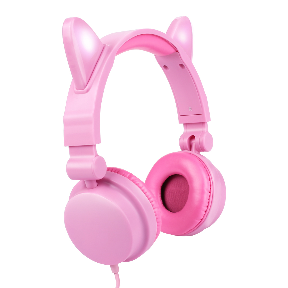 Big SaleùHeadphones with Led-Flashing Glowing Light Family And Friends Gift Circle Wired Dynamic╝