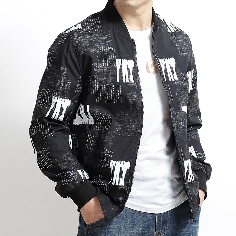 Nouvelle 2 Casual Manteau 4xl 8xl Grande 1 Vêtements Marque Mens Bomber Taille Vestes Automne Solide 5xl 6xl Manteaux 2019 Hommes Plus gwqx1xRE