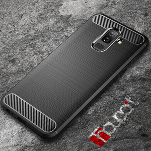 For Samsung Galaxy J8 2018 Case Silicon Heavy Shockproof TPU Carbon Fiber Soft Silicone Case For Samsung Galaxy J8 2018 Cover