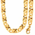 New Trendy Figaro Chain Necklace For Men Or Women Jewelry Gift Necklaces Gold Plated Wholesale N50048