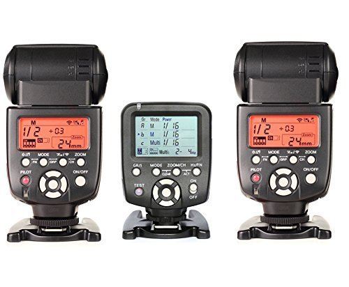 560tx with 560iiix 2 шт. YONGNUO yn560 tx ЖК дисплей Беспроводной ручной вспышки Контроллер + 2 шт. YN 560 III вспышки Speedlite свет для Canon