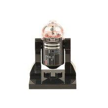 Wholesale XINH 206 Black R2D2 Minifigures 50pcs Star Wars 7 The Force Awakens Single Sale Mini Figures Building Blocks Kids Toys