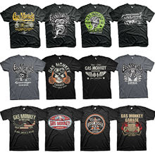 Gas T Shirt Monkey Garage Licensed Fast N Loud Kustom Builds