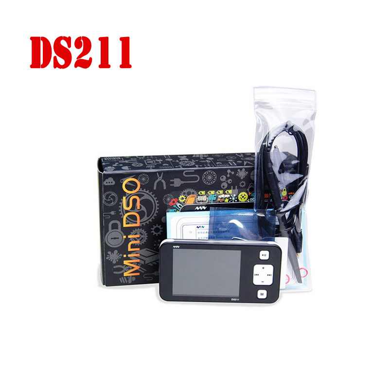 CCDSO DS211 Osciloscopio Pocket USB Handheld Mini LCD Digital Oscilloscope For Automotive 2 8 DSO211 Better