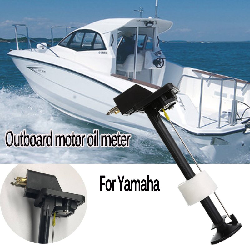 1 Pcs 12L 24L Plastic External Fuel Tank 23cm For Yamaha Outboard Motor Fuel Gauge / Fuel Meter Assembly 23cm About 9.06 Inch