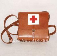 WW2 японской армии IJA аптечка медик Шестерня кожаный Box мешок 32158