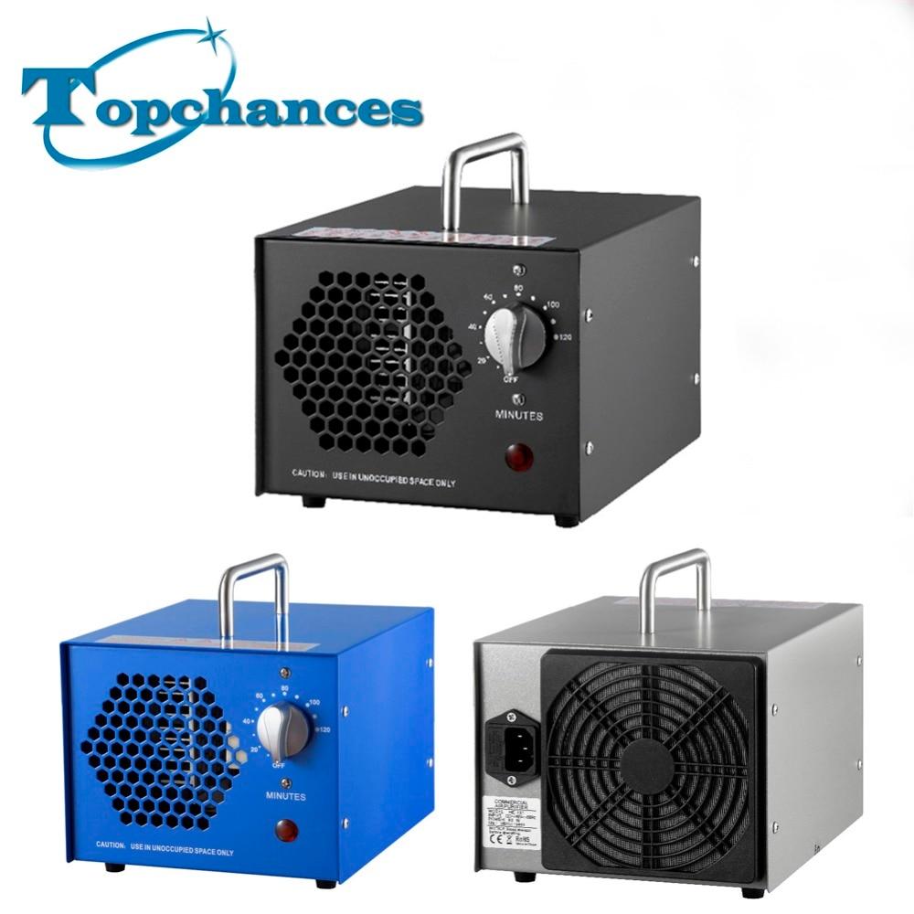 Newest High quality 5G ozone generator air purifier Freeshipping by DHL/Fedex/UPS/TNT/EMS