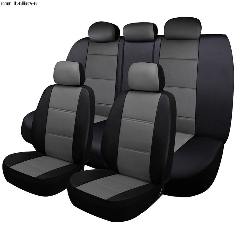 Acreditam carro tampa de assento do carro Para nissan qashqai j10 almera n16 nota x-trail t31 y61 patrulha juke covers para assentos de veículos
