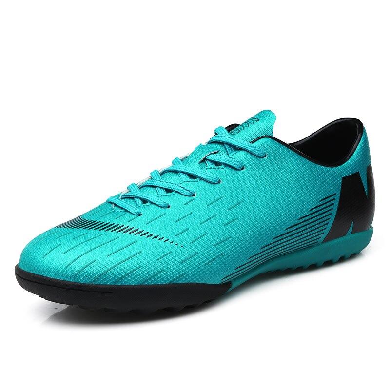 כדורגל נעלי גברים דשא Spikes כדורגל ילד נשים חיצוני אתלטי מאמני סניקרס מבוגרים מותג מקצועי כדורגל Futbol