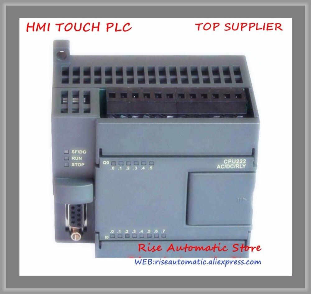 New Original 8point input 6point Relay output PLC CPU222R-14 replace S7-200 6ES7212-1BB23-0XB0 Support expansion module new original cp1e e14sdr a plc cpu ac100 240v input 8 point relay output 6 point
