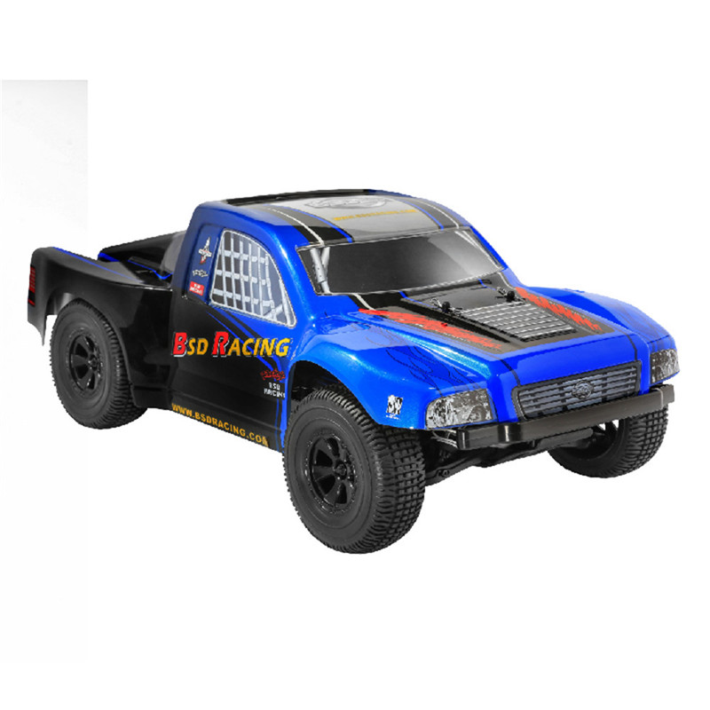 BSD Racing BS807T 1/8 2.4G 4WD 75km/h 4S Brushless Rc Car Electric Short Course Truck RTR Model Vehicle Toy Outdoor Toys For Boy