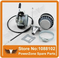 High Performance CARBURETOR CARB CAG MINI MOTO ATV Pocket Bike 47 49 cc part wtih filter throttle cable free shipping