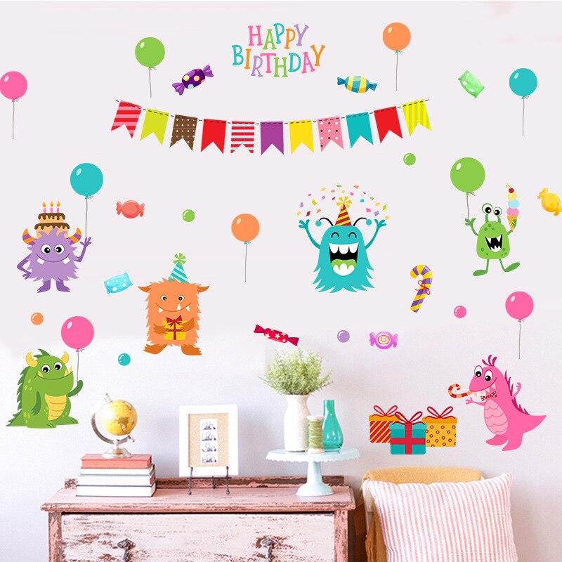 Открытки с днем рождения для стен