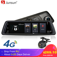 Junsun K759 4G Special Mirror Car DVR Camera 10 Full Touch Android Special Mirror GPS FHD