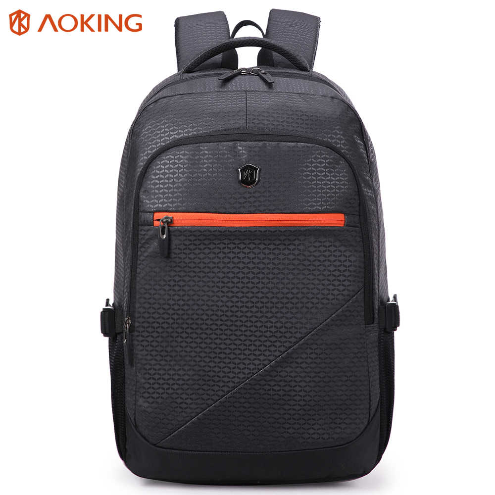 Aoking Brand 31L Man Woman Backpack Large Capacity Travel Cosmetic Backpack School Bags For Man With Comfort Soft Cushion