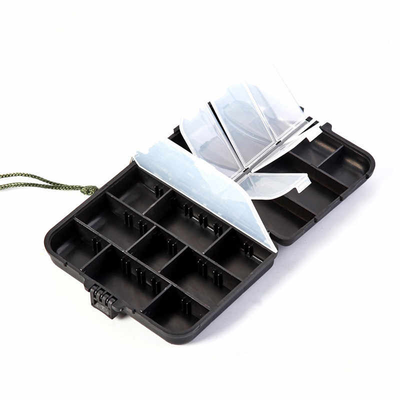 Hot Sale High Quality Fishing Bags Waterproof Fishing Accessories Box Case Fishing Lures Box Spoon Hooks Baits Case Storage Bags