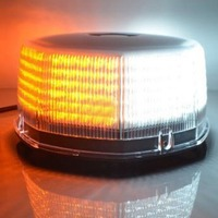Universal DC12V LED Car Magnetic Mounted Police Ambulance Strobe Warning Light Flashing Beacon Emergency Lamp Amber White Yellow