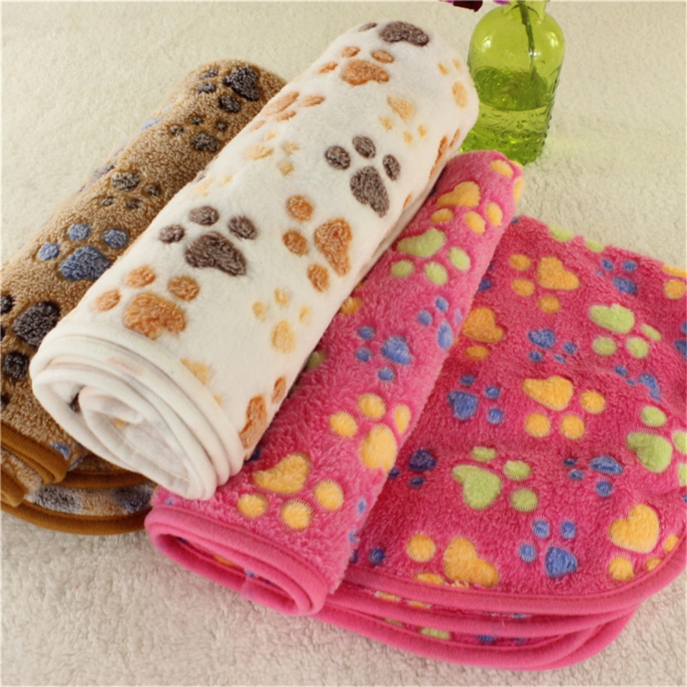Hoomall Silicone Colorful Paw Pet Dog Cat Feeding Mat Pad Pet Dish Bowl Food Water Feed Placemat Puppy Bed Blanket Table Mat Table Decoration & Accessories