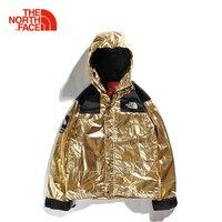 ФНО металлик Mountain Parka SS 18 The North Face северной и Новинка зимы теплые и рваные открытый Пеший Туризм Для мужчин теплая куртка