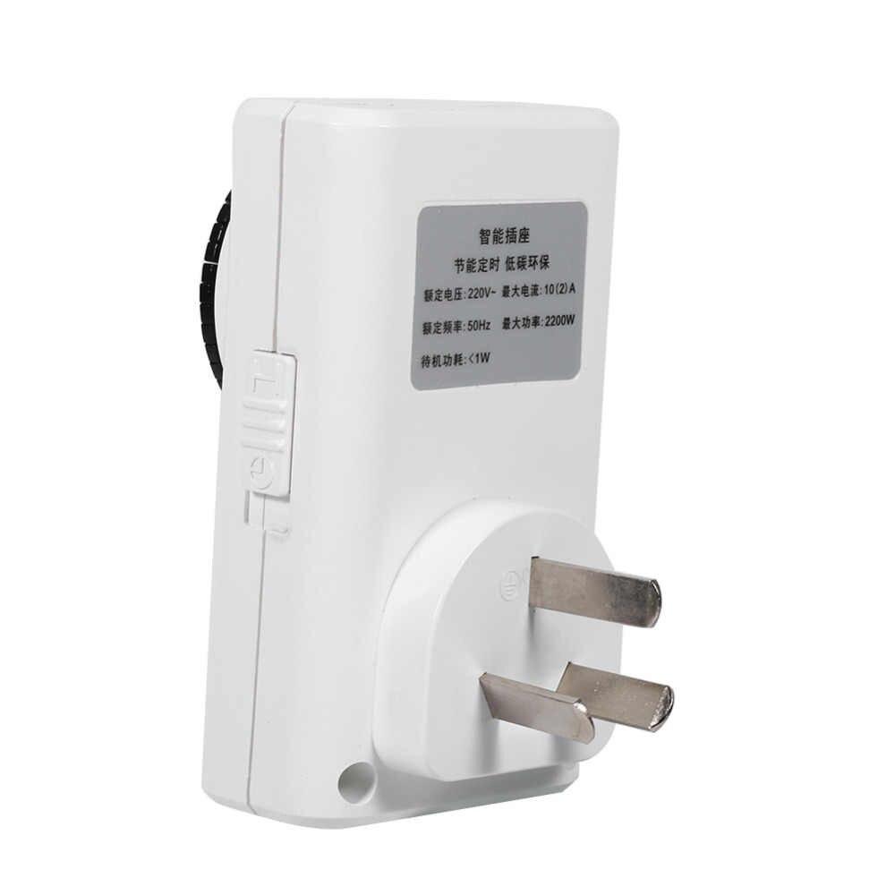 24 godziny elektryczny mechaniczny programator czasowy przełącznik zasilania gniazdo włącznik ścienny oszczędzania energii wyłącznik czasowy gniazdo użytku w pomieszczeniach domu nowy