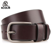 Free Shipping New Arrival Brand Men S Luxury Real Leather Belt With Solid Brass Buckle First