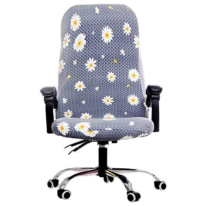 Rotating Office Computer Chair Cover Spandex Covers for ...