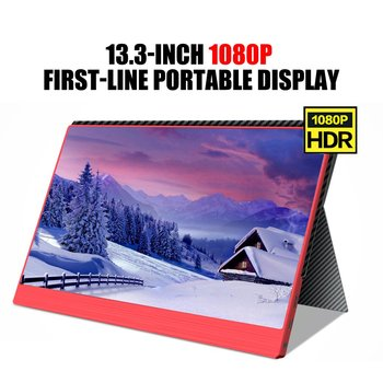 13.3-inch/15.6-inch 1080P type-c portable HDR display for PS4/XBOX/Switch/PC/Android