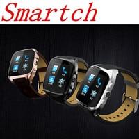 Tüketici Elektroniği'ten Akıllı Saatler'de Smartch X01S Akıllı WiFi Bluetooth İzle Telefon Android 5.1 IŞLETIM SISTEMI 3g WCDMA 1 gb + 8 gb GPS Kalp hızı Monitörü Spor Pedometre ile 2MP Ca