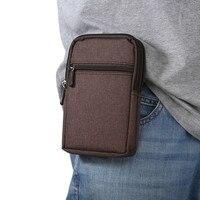 New Cowboy Panno Phone Pouch Clip da Cintura per Samsung Bordo S5 S6 S7 S4 S3 Nota 7 5 4 3 con il Supporto Della Penna del Sacchetto Della Vita per Xiaomi
