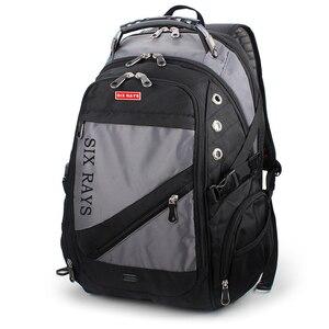 Image 3 - Sac de voyage en Polyester pour hommes, sac à dos suisse, sacoche imperméable antivol, sacoche de marque pour hommes, 2020 offre spéciale