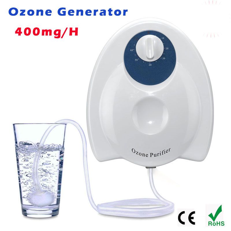 New Ozone Generator Water sterilizing Air Purifier AC110V or AC220V Ozone output 400mg/H Timing Function Aquarium Disinfection 1pc new fruit and vegetable purifier yl a300 purifier sterilization disinfection machine 200 400mg h ozone
