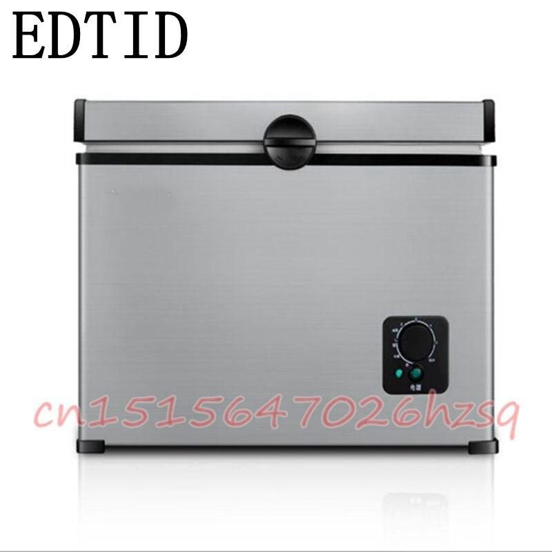 все цены на  EDTID 45L Mini chest/deep Freezer Household Refrigerator Single-Temperature Protable Retain freshness Freezer  онлайн