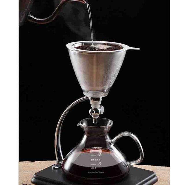Yama Vacuum Dripping Coffee Maker Korean Style Heat Resistant Gl Ice Drip Stuffy