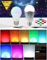 Milight 2.4G E27 6W/9W Wireless Colorful LED RGBCW (RGB+COOL WHITE) RGBWW (RGB+WARM WHITE) LED Smart Bulb Lamp