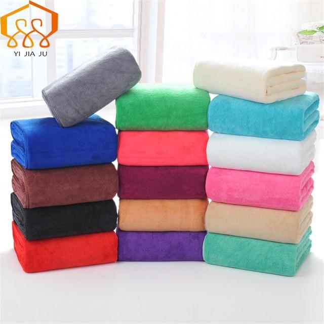 19 Colori 180x80 cm Microfibra Telo da bagno Telo Mare Supersoft Sport asciugama