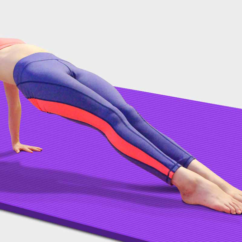 Body Line Thick Hot Yoga Pilates Mats Gymnastics Balance Pads Fitness Mats Non-Slip Dance Pads 12