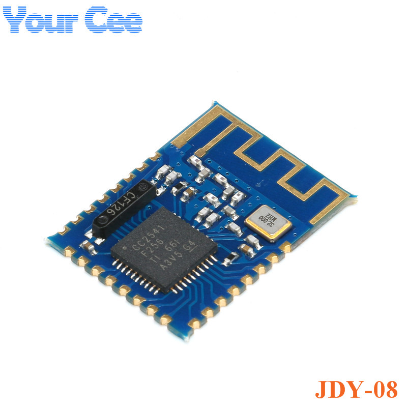 Integrated Circuits Jdy-08 Ble Bluetooth 4.0 Uart Transceiver Module Cc2541 Central Switching Wireless Module Ibeacon Special Buy Electronic Components & Supplies