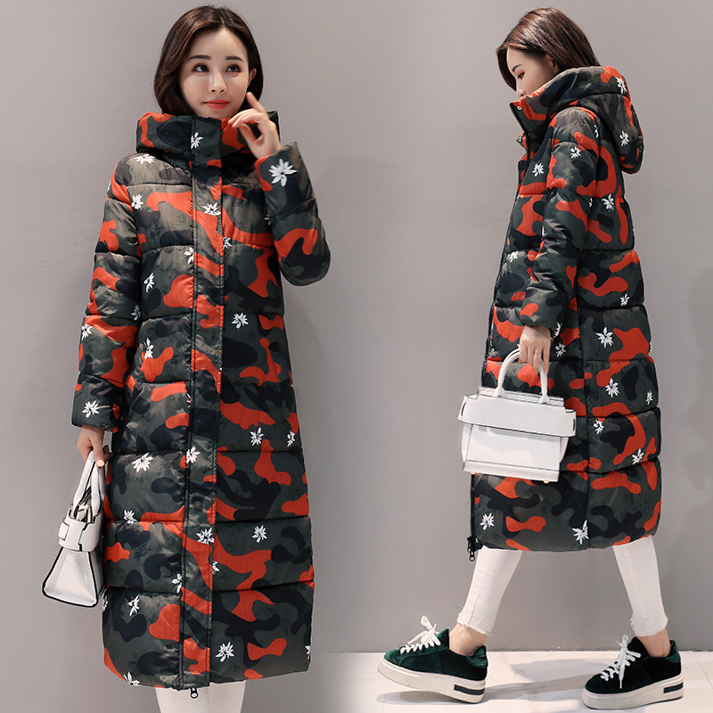 Parkas Hooded Women Thick Winter Jackets 2017 Medium Long Slim Female All Match Outwear Thermal Plus Size Coat Chic Cloth MY0146 plus size 3xl women winter parkas coat padded jacket hooded thick overcoat warm letter medium long female tops jackets outwear