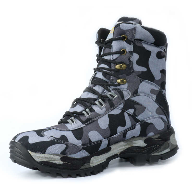 f01ff86f3c19c ... 6 Color Men Outdoor Waterproof Shoes Army Desert Military Tactical  Shoes Boots Camouflage Fishing Anti- ...