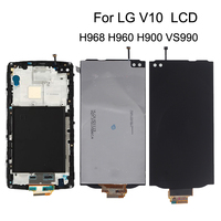 5.7'' Original For LG V10 H968 H960 H900 VS990 LCD Display+ Touch Screen Digitizer Kit Phone Parts with Frame+Free Shipping Tool