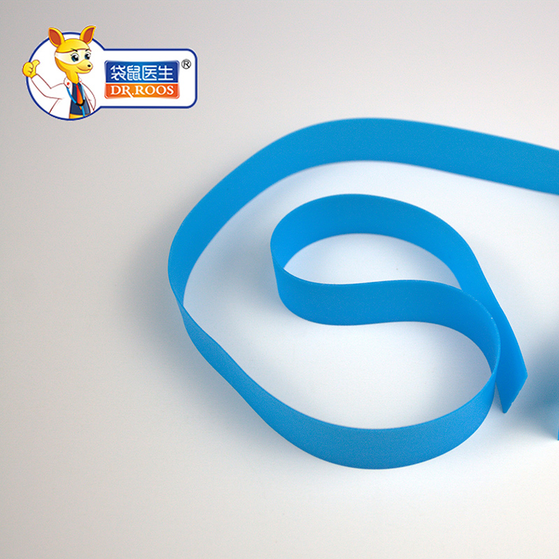 50pcs 35cm Disposable Medical Blue Tourniquet Emergency Necessities Stop Bleeding Strap