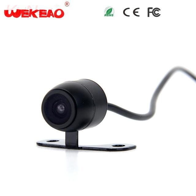 Wekeao Mini Hidden Monitor Universal Car Rear View Camera Review Reversing Parking Kit Waterproof Night Vision