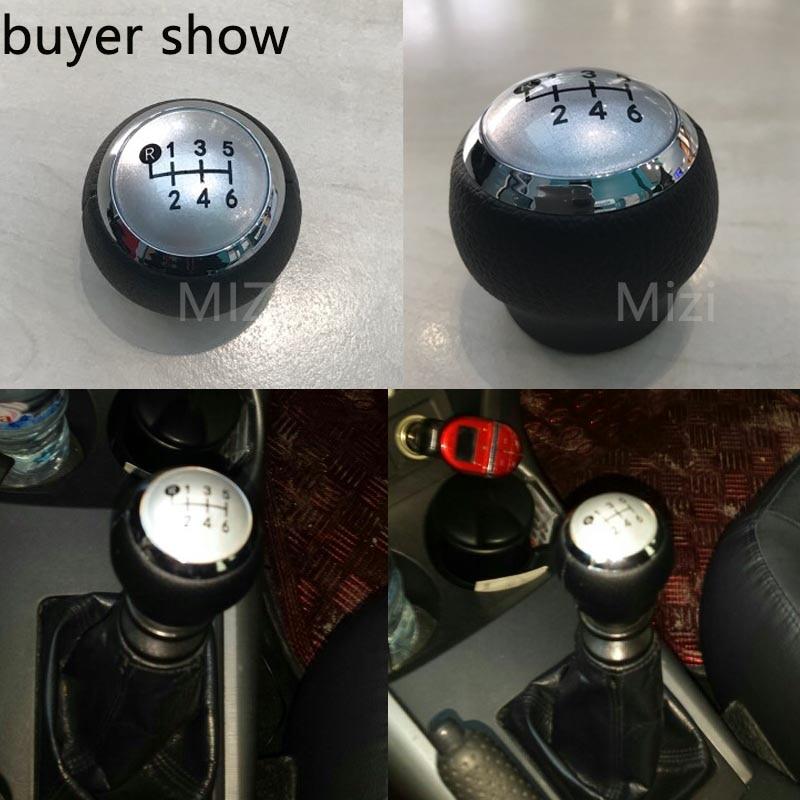 6 скорост копчето за превключване на колата за скоростна кутия за Toyota Corolla 1.8MT 2007 2008-2013 за Toyota RAV4 AVENSIS YARIS D4D URBAN