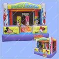 Novo Design Castelo Inflável Inflável, Mickey Mouse Castelo inflável, Qualidade comercial Inflável Trampolim, frete Grátis