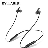 Bluetooth Sports Earphones Magnetic With Microphone Wireless Music Headset For Iphone 6 Samsung S8 Xiaomi Syllable